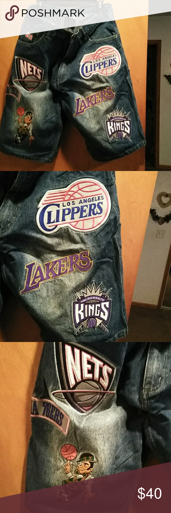 NBA logo shorts in 2020 Nba logo, Logo shorts, Lakers logo