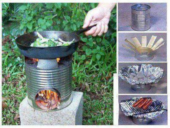 Homemade grill
