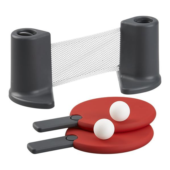 Dining Table Ping Pong Set -- to replace the hideous one I made Wood sell years ago.  sc 1 st  Pinterest & Portable Ping Pong- net adjustable up to 6 feet... turn any table ...