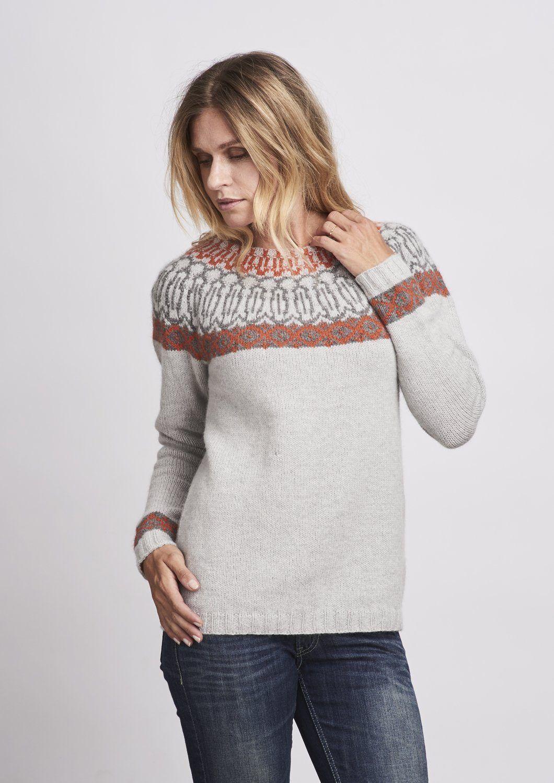 Dagfrid Sweater Knitting Pattern Breien Pinterest Patterns