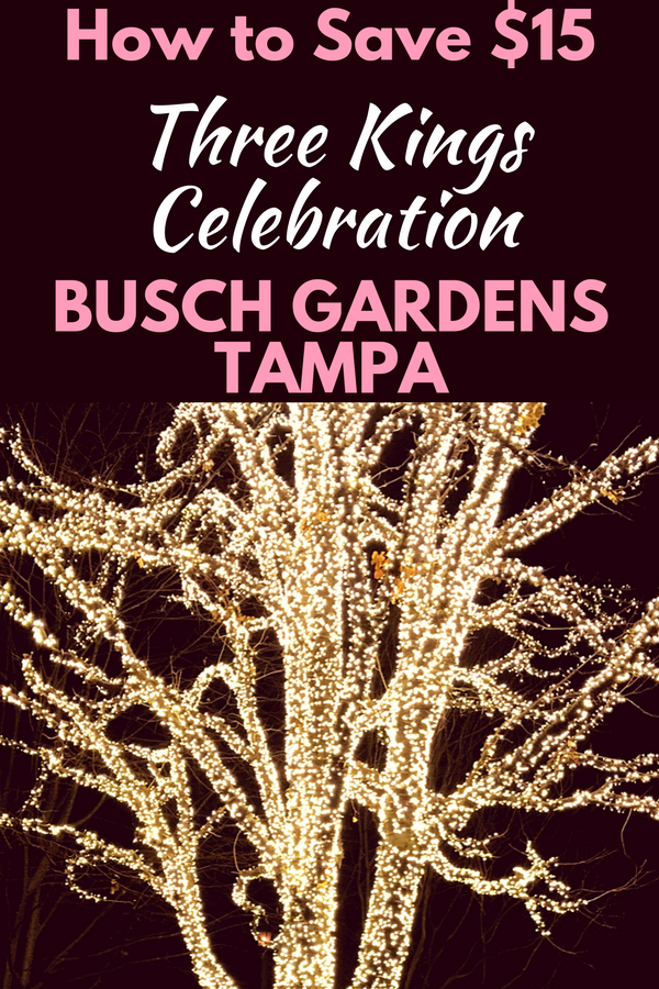 busch gardens tampa vacation packages. save $15 on three kings celebration at busch gardens tampa. vacation dealsflorida tampa packages