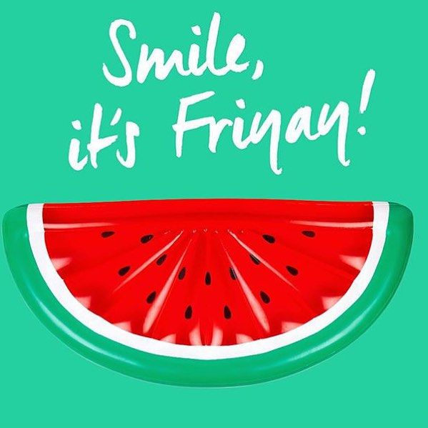 That's right it's Friday! Yay and what a week it has been with so much exciting new stock flooding in including this cool watermelon pool float from @sunnylifeaustralia  #watermelon #poolfloat #sunnylife #summeriscoming #stfdnz #shuthefrontdoorstore