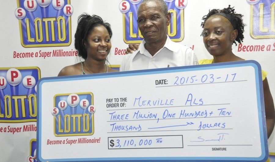 Lotto winner collects 3m prize barbados today lotto