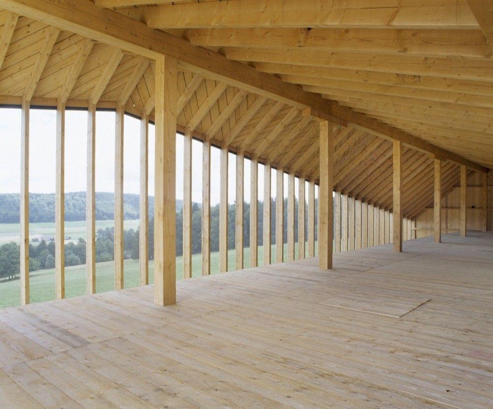 Gallery Of Etable De Stabulation Libre Localarchitecture 3 Architecture Cow Shed Architecture Details