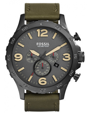 Fossil Nate Leather