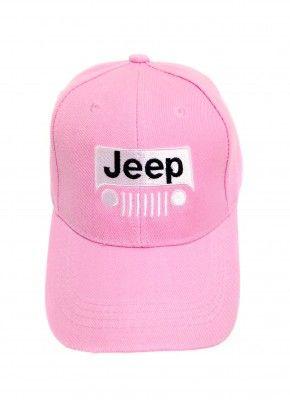 5f16ffab445 Women s Pink Jeep Grille Logo Cap