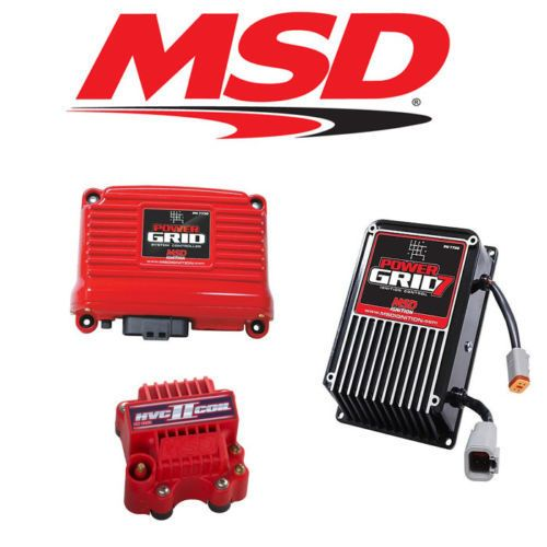 Msd Power Grid 7 Kit 7720 7730 Controller 8261 Power Grid Ignition Coil Car Parts And Accessories