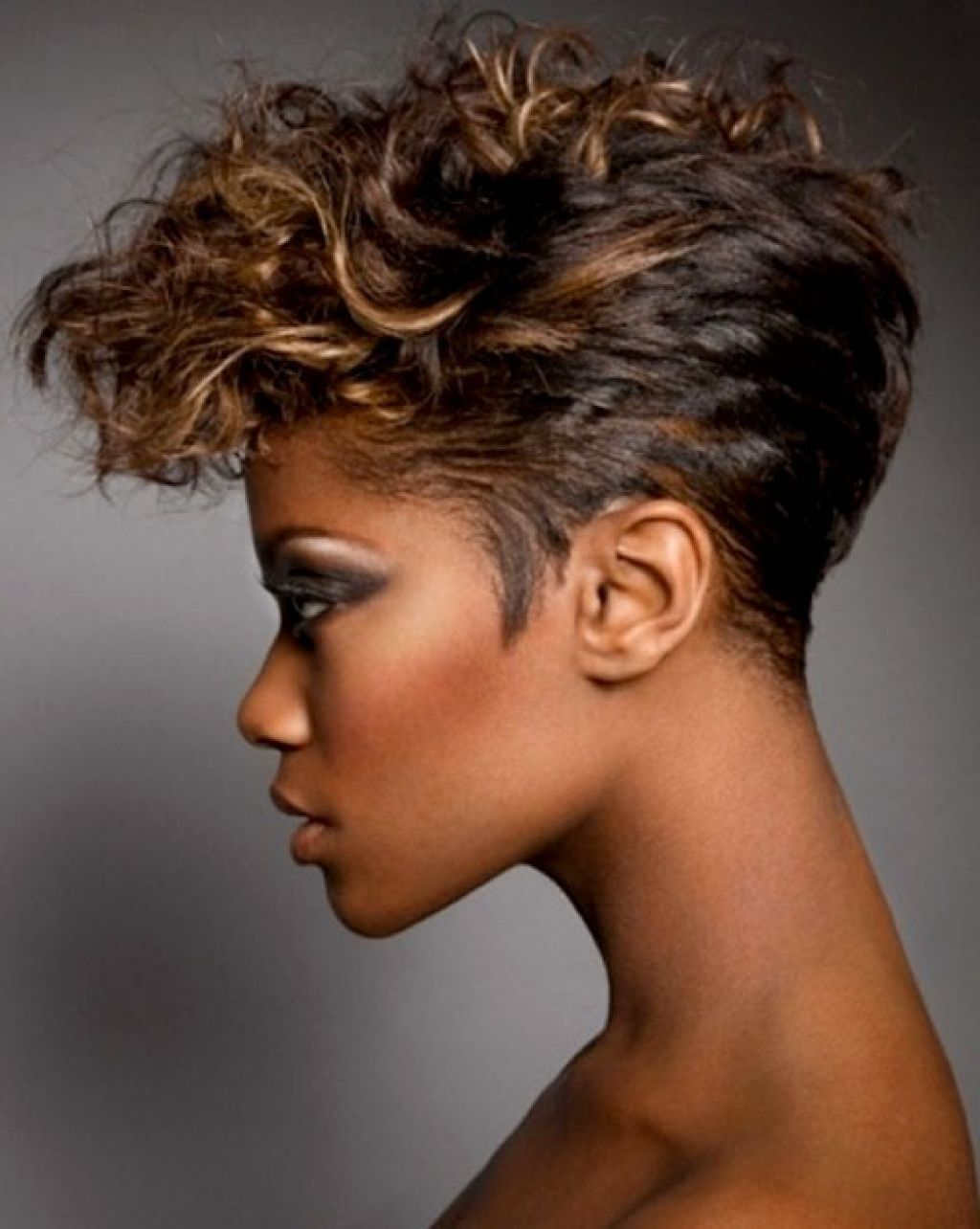 short natural hairstyles for black women 2018 - womenstyle