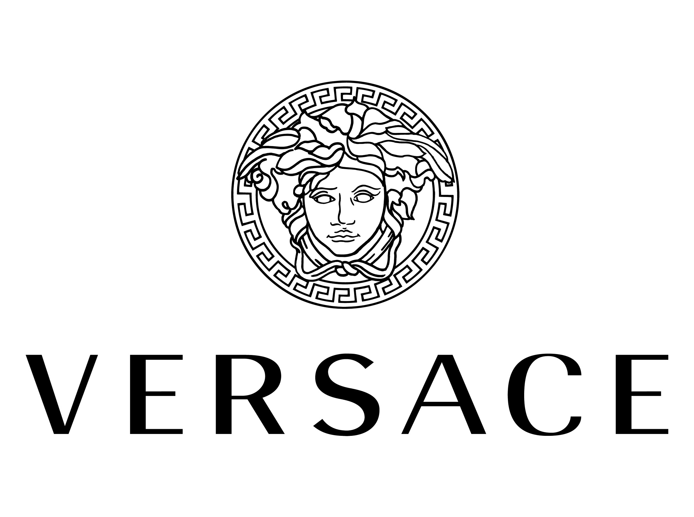 versace logo レトロ