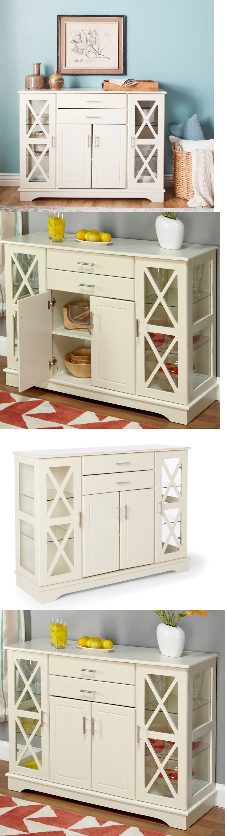 Sideboards and Buffets China Cabinet Kitchen Dining Room