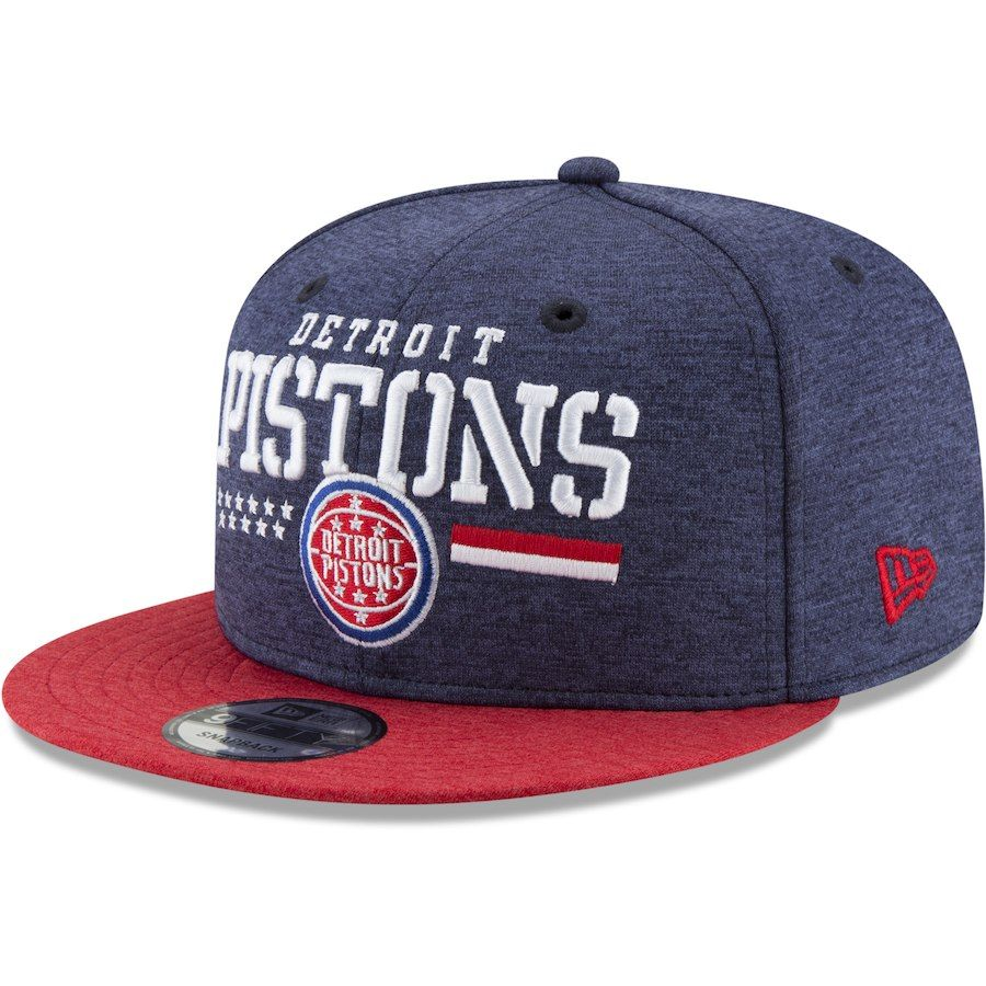 sports shoes 16521 d9641 ... sweden mens detroit pistons new era heathered navy red nba hoops for  troops 9fifty hat your