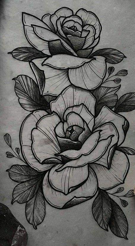 Rosas Flores Etc Tatuajes De Rosas Dibujos De Rosas Dibujos Unicos