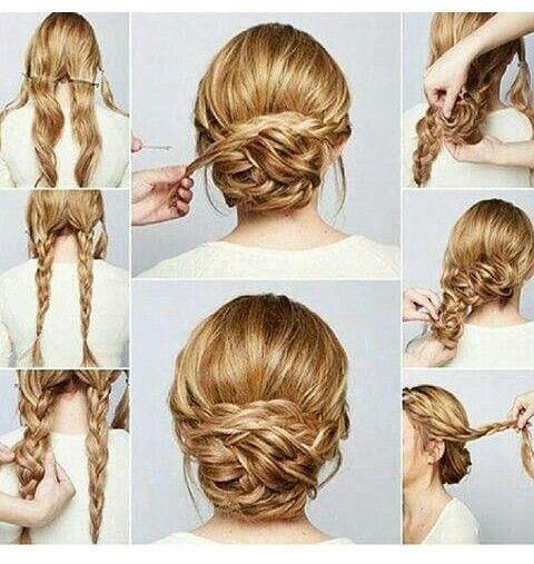 Penteado haircutsstyles pinterest hair style make up and up dos penteado solutioingenieria Choice Image