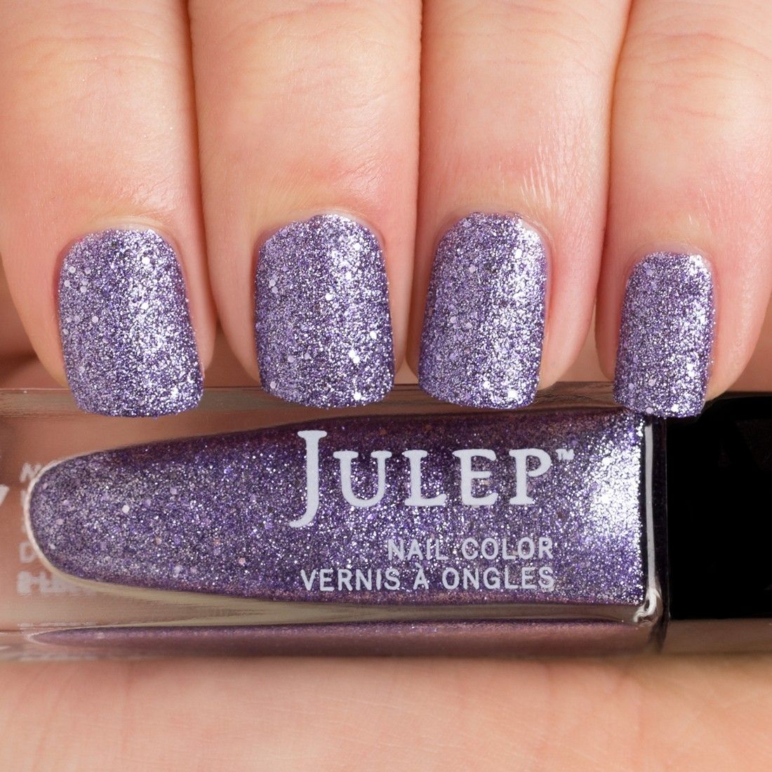 Elaine - wisteria full-coverage microglitter, IG, Gem Collection ...