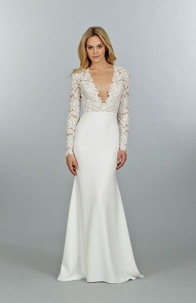21 Ridiculously Stunning Long Sleeved Wedding Dresses to Covet ...