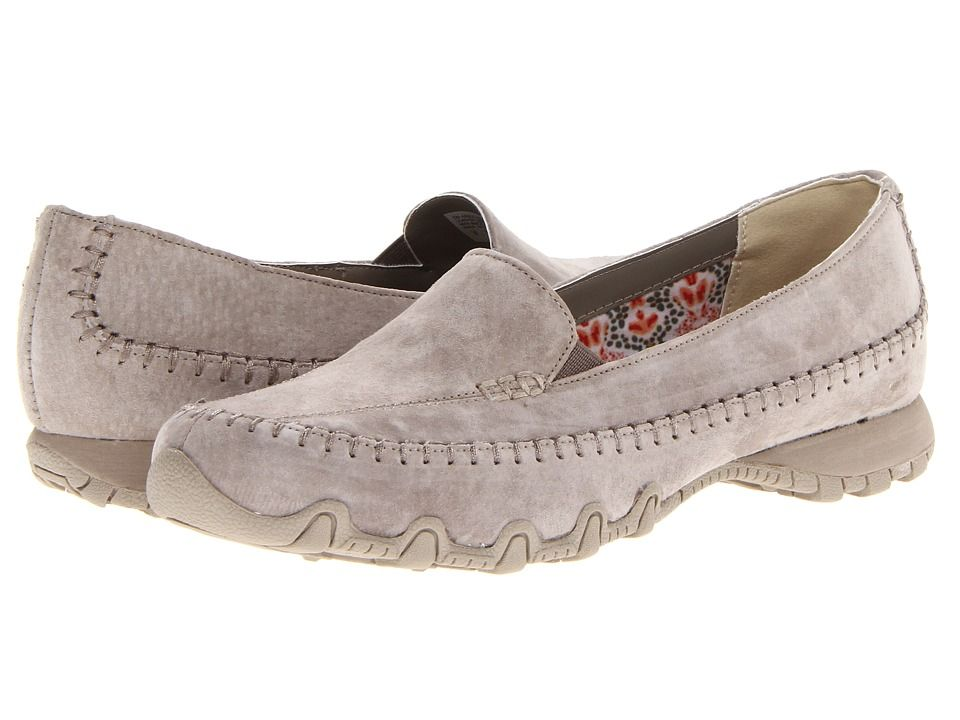 690f017f4021c SKECHERS Taupe | Hot Items | Skechers relaxed fit, Skechers bikers ...