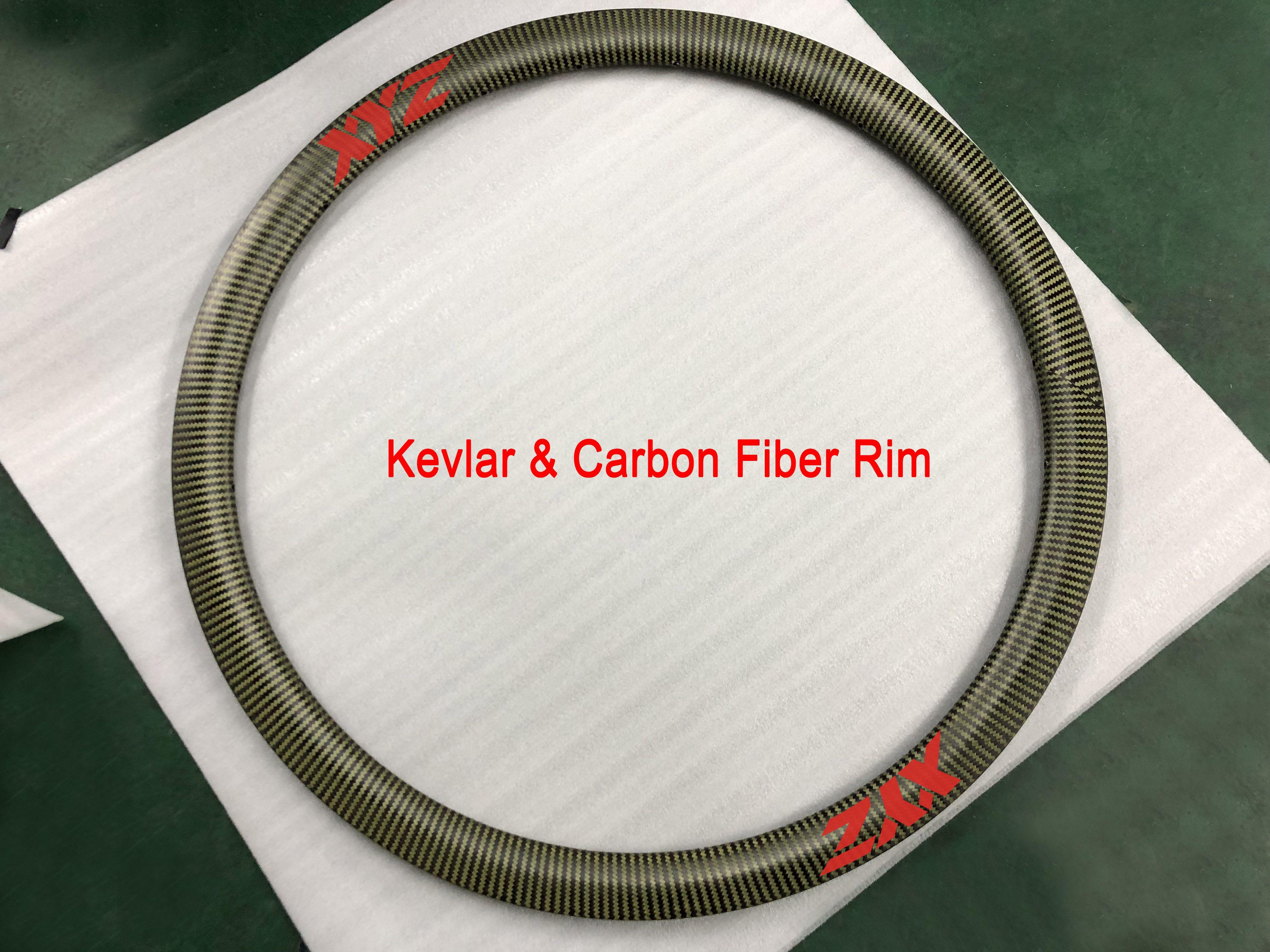 700C 25mm width 60MM depth CLINCHER KEVLAR LIGHT ROAD BICYCLE CARBON RIM