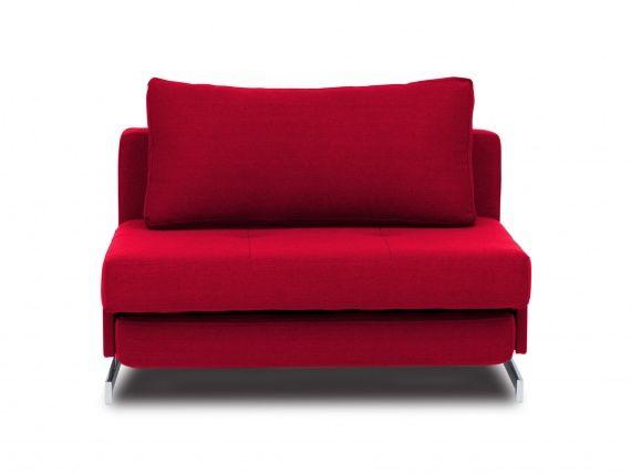 Crane Armchair Sofa Bed Bristol Red
