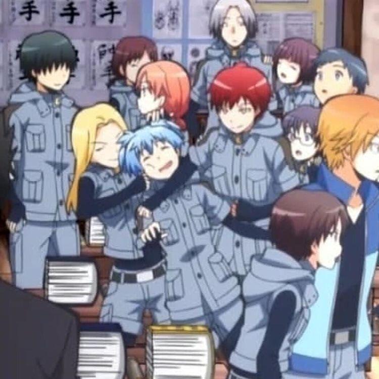 Assassination Classroom Koro Sensei Nagisa Karma Kaede Anime Classroom Assasination Classroom Assassination Classroom