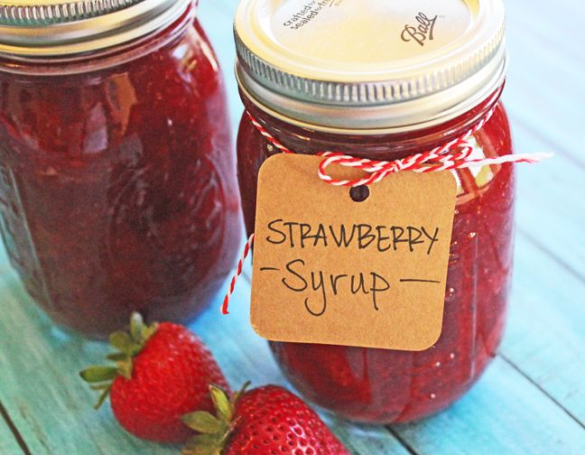 How to make canned strawberry syrup jam jelly compote how to make canned strawberry syrup ccuart Images