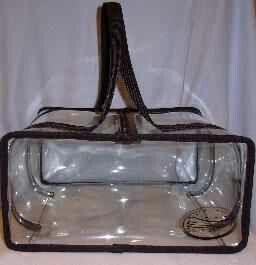 Stadium standard clear bags