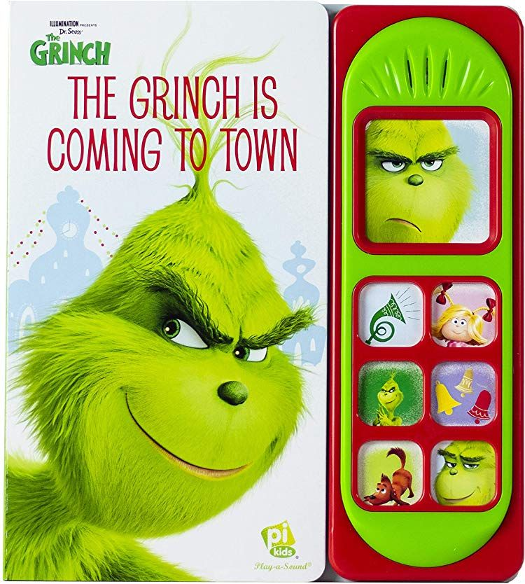 The Grinch BOOKS & ACTIVITIES Sound book