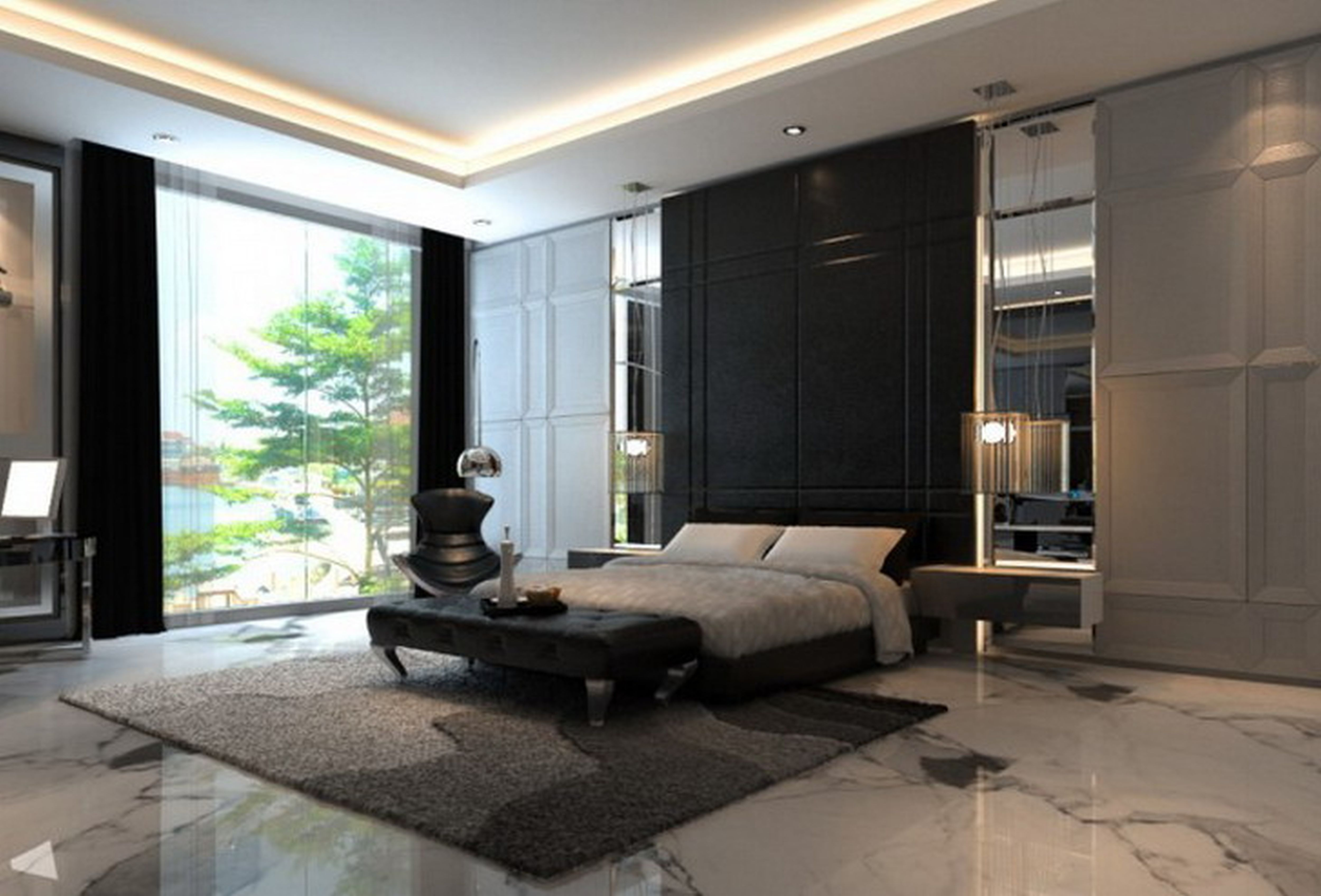 Pin by MWM Studio on Concepts - Bedrooms and suites | Master ...