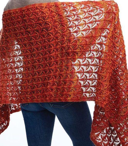 Lace Shawl And Wrap Knitting Patterns Lace Wrap Knitting Patterns