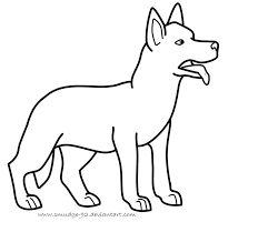 Image Result For German Shepherd Coloring Pages Free Coloring