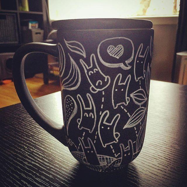 Black Customizable Nordic Mug Mugs Davids Tea Diy Mugs