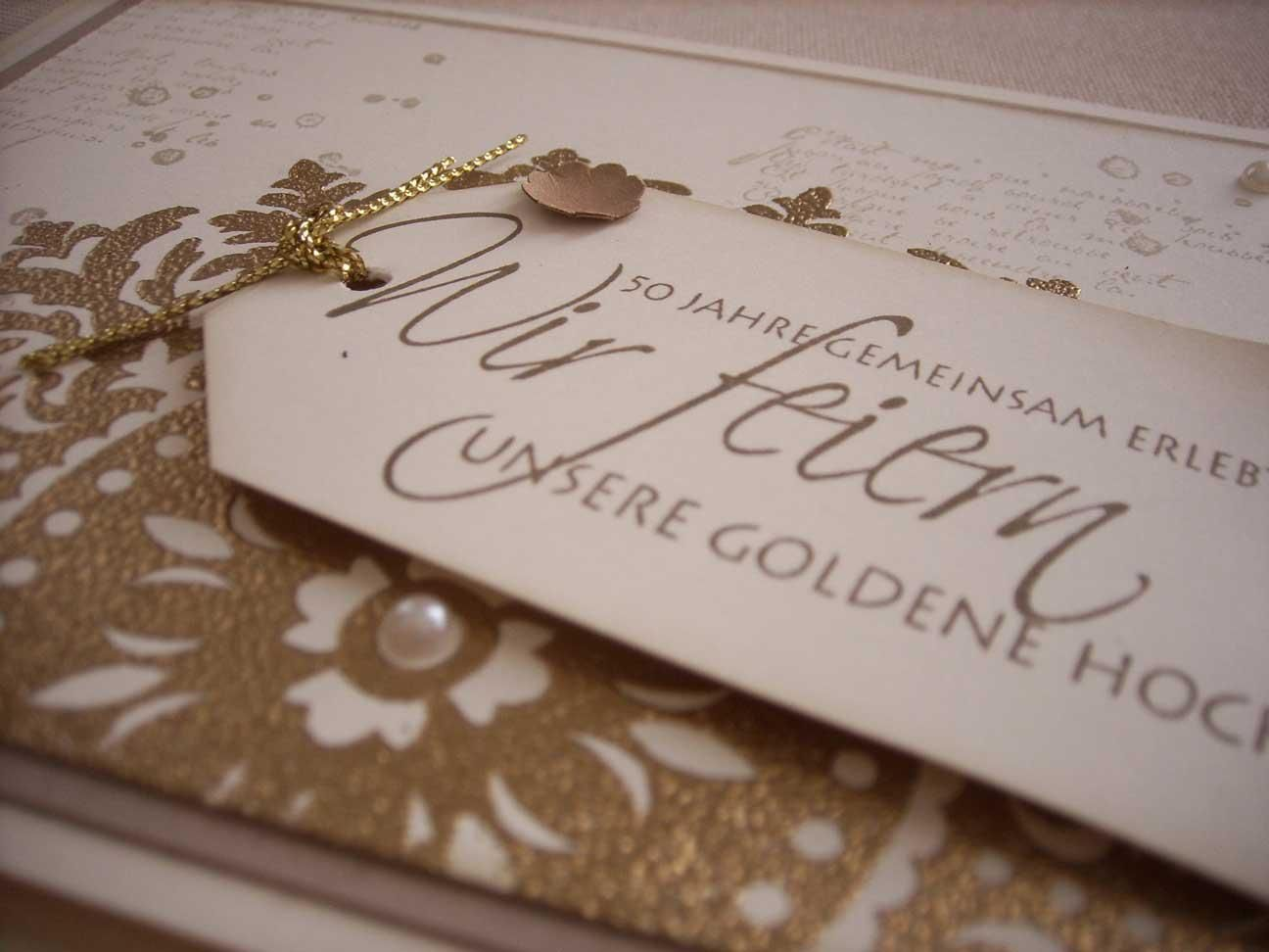 Einladungskarten goldene hochzeit kostenlos