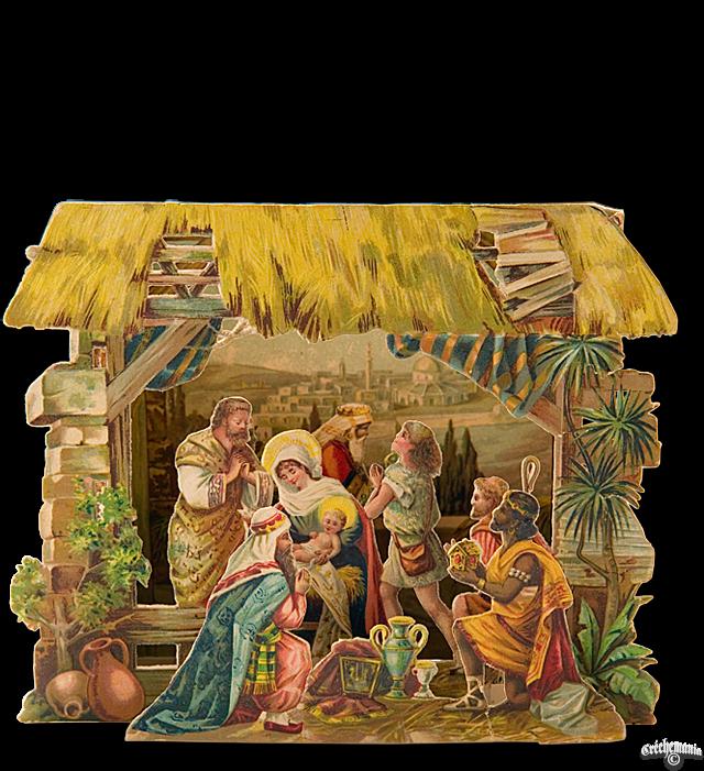 Pop Up Nativity Advent Book Calendar