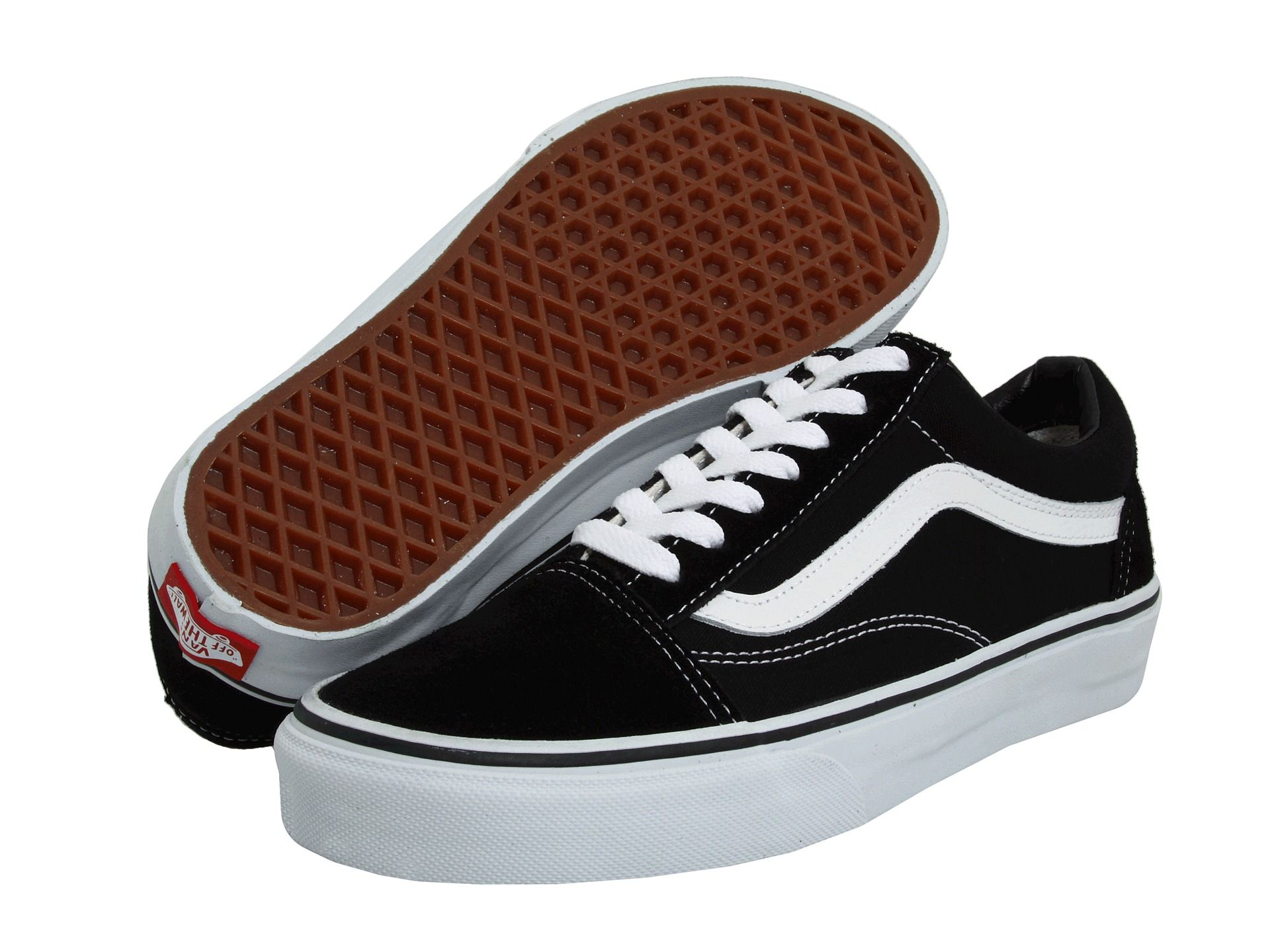 Vans Old Skool™ Core Classics Black - Zappos.com Free Shipping BOTH Ways f3864b4ef