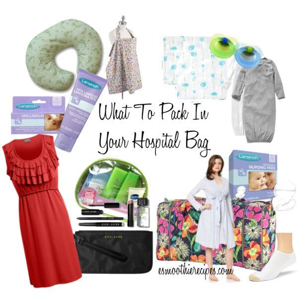 What to Pack in Your Hospital Bag C Section Edition | http://www ...