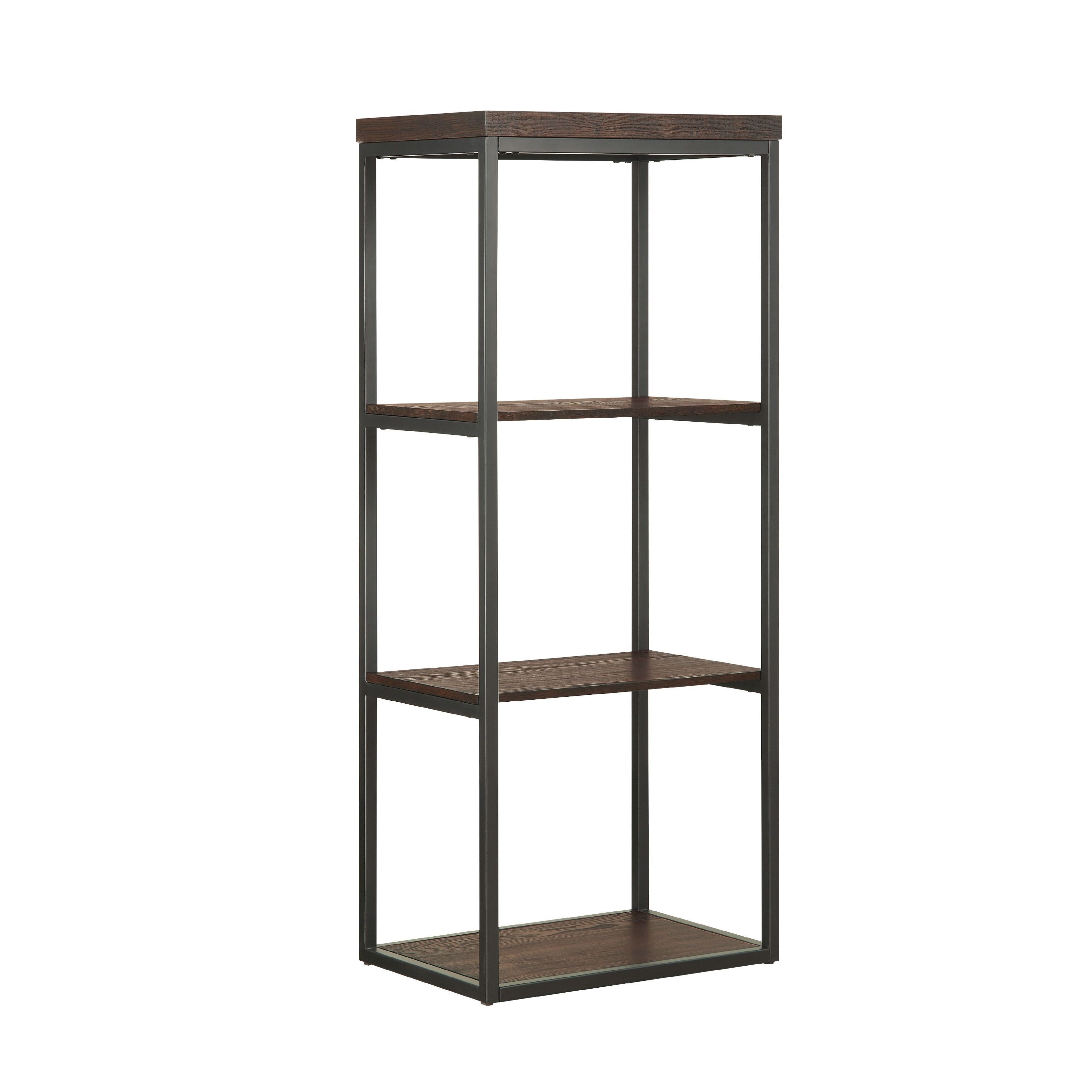 Industrial Meets Rustic For Unmatched Style Versatility. With Six Levels Of  Storage And Display Space