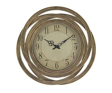 Часы настенные  - золотой, 51х5х51 см