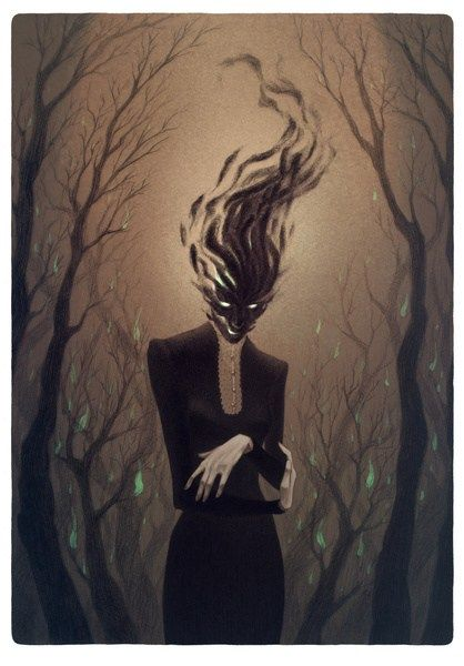 Contract These creepy sexy illustration were born from the mind of Lenka Šimečková, student of Illustration and Comics from Vimperk, Czech Republic. Her picturesque style is dark and unique, each i…