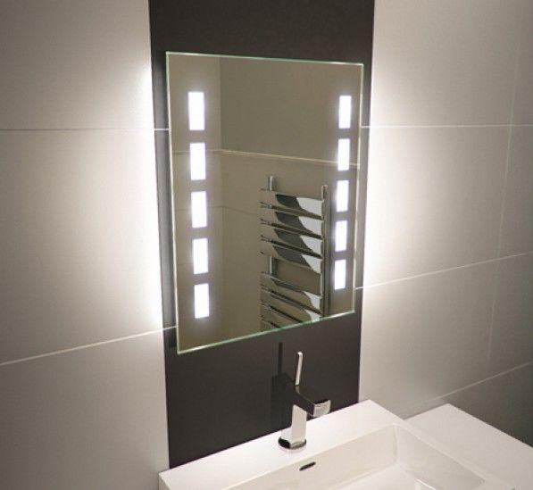 Cube Tall Light Bathroom Mirror Bathroom Ideas Heated