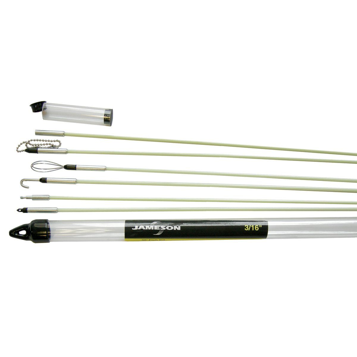 Jameson 7s65k Deluxe Glow Rod Wire Electrical Fishing Kit With Accessories And 30 Total Feet Of Fiberglass Rod Details Can Be Found By Clicking On Th Glow Fish