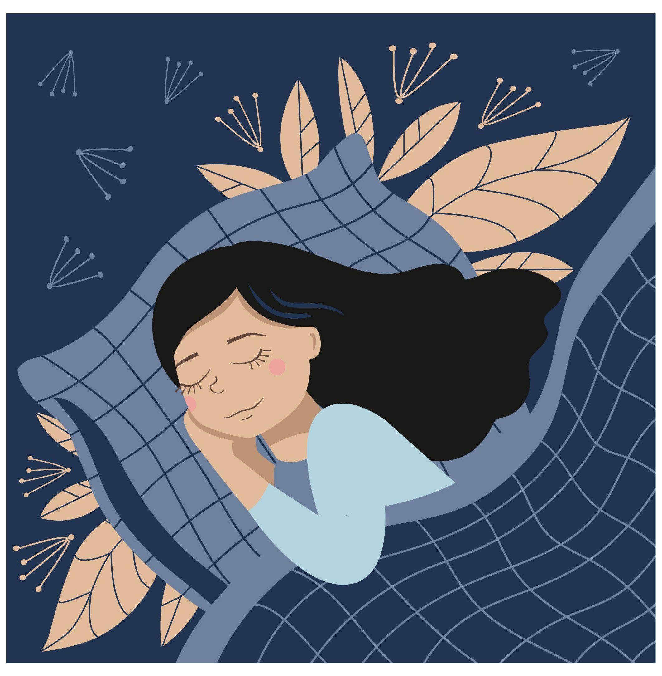 Sleeping Girl Illustration Dreams Sleepinggirlillustrationdreams In 2021 Dream Illustration Sleeping Drawing Illustration