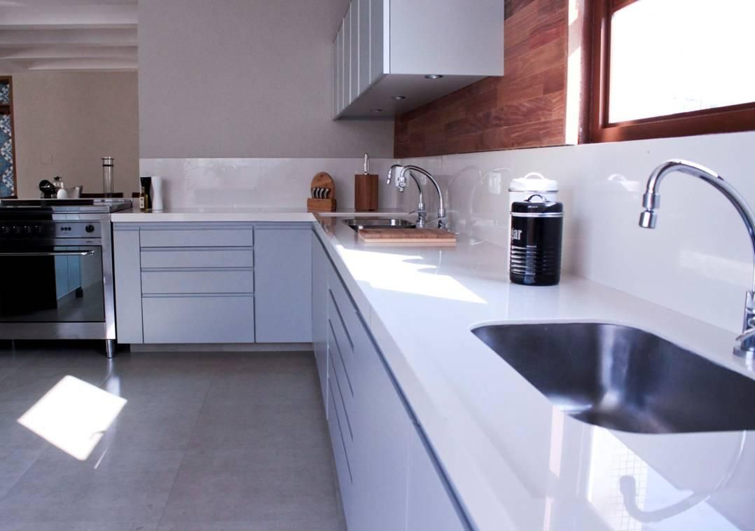 Cozinha bancada em porcelanato cer mica portinari - Bancadas de cocina ...