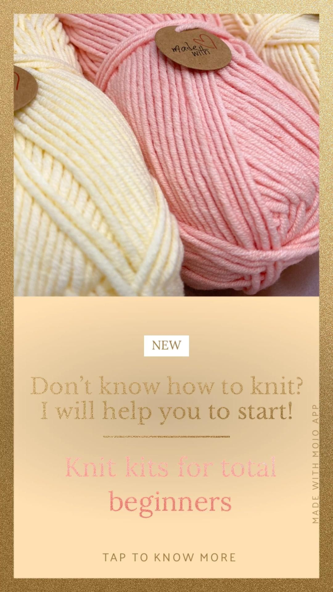 Photo of How to start knit for total beginners tutorial DIY knitting kit