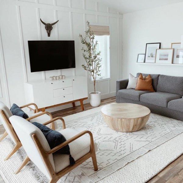 Modern Buffet Living Room Scandinavian Minimalist Living Room Mid Century Modern Living Room