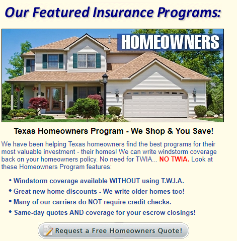 At Brock Insurance Group Llc In Texas Homeowner S Insurance Can