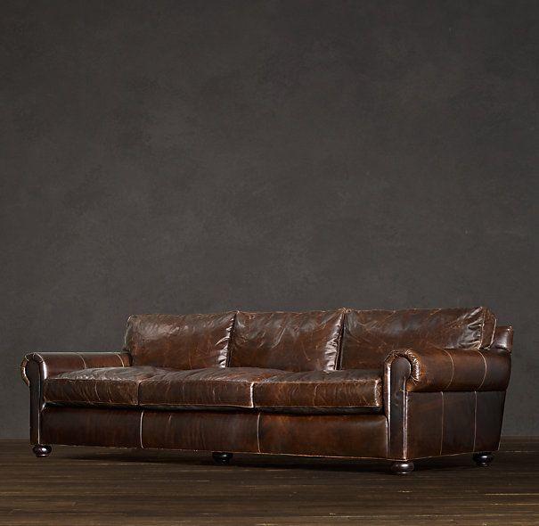 96 Original Lancaster Leather Sofa