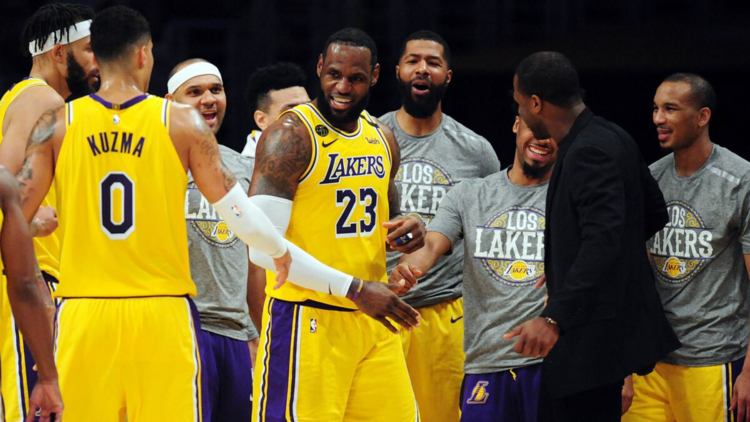 Purple and Bold in 2020 Lakers, Lebron james, Coach of