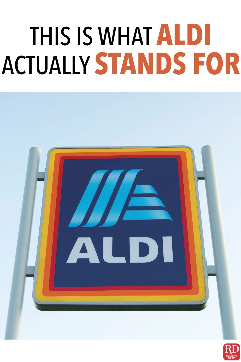 This Is What Aldi Actually Stands For In 2020 Aldi Discount