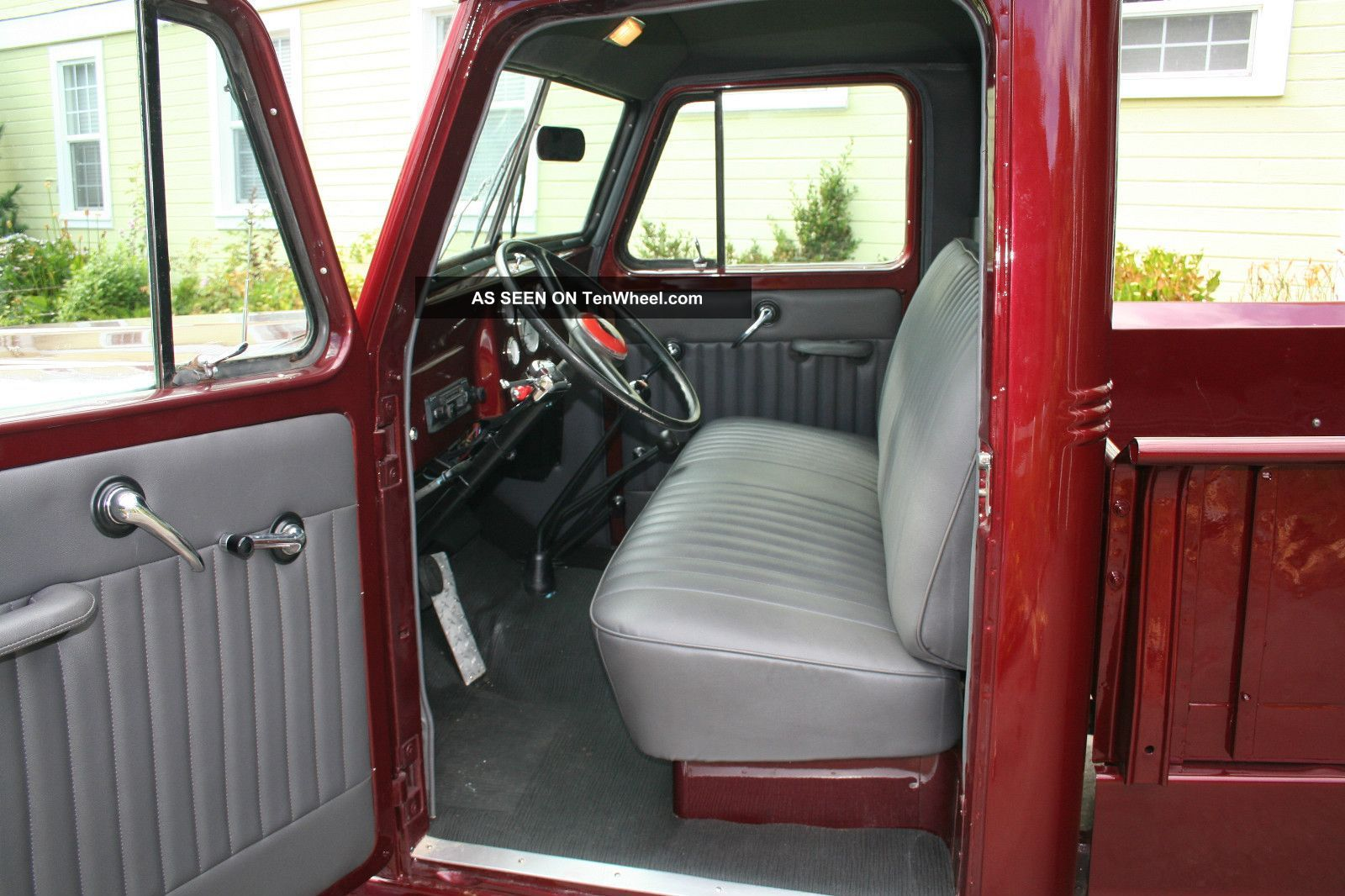 1955 Willys Pickup Truck 4wd Paint Interior Some Mechanicals 2 Lgw Jpg 1 600 1 066 Pixels Willys Truck Interior Interior