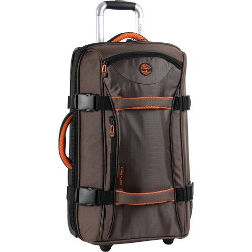 Timberland Luggage Twin Mountain 22 Inch Wheeled Duffle, Cocoa ...