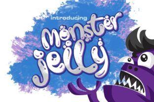 Monster Jelly - Creative Fabrica